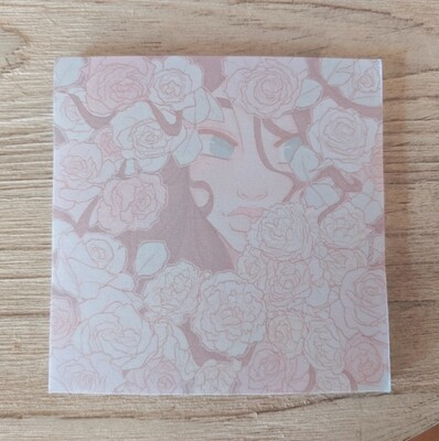 Warm Whimsical Petals (Sticky Notes)