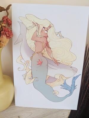 Porpoise Princess (11x17)