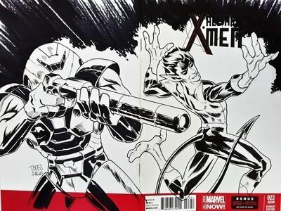 Nightcrawler Sketch Cover