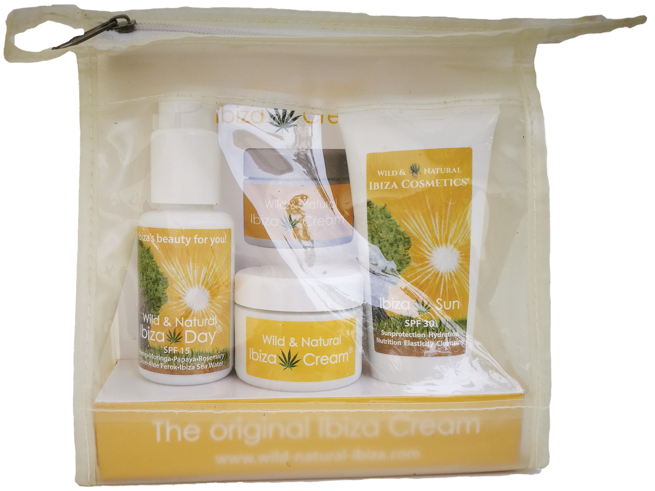Ibiza Cream® SET:  IBIZA CREAM 30ml, IBIZA DAY 50ml, IBIZA SUN 100ml