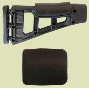 """Cheek Pad for Hi-Point Carbine Stocks -  HP-1 3-1/2"""" W x 4-1/4""""L x 5/16"""" thick"""