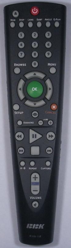 26674 BBK RC26-01R (DVD)