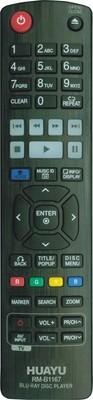 27133 UNIVERSAL (for LG) RM-B1167 (TV + BLU-RAY DVD)
