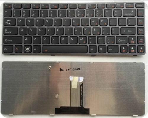 Lenovo Y480 Y480N Y480M Y480A series Black laptop keyboard