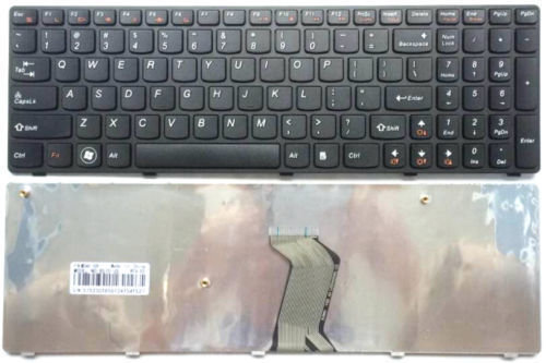 Ibm Lenovo B570 B575 B580 B590 Black Series Laptop keyboard