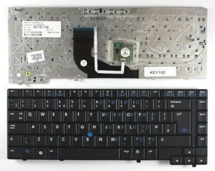 HP Elitebook 6910P Series Black Laptop Keyboard