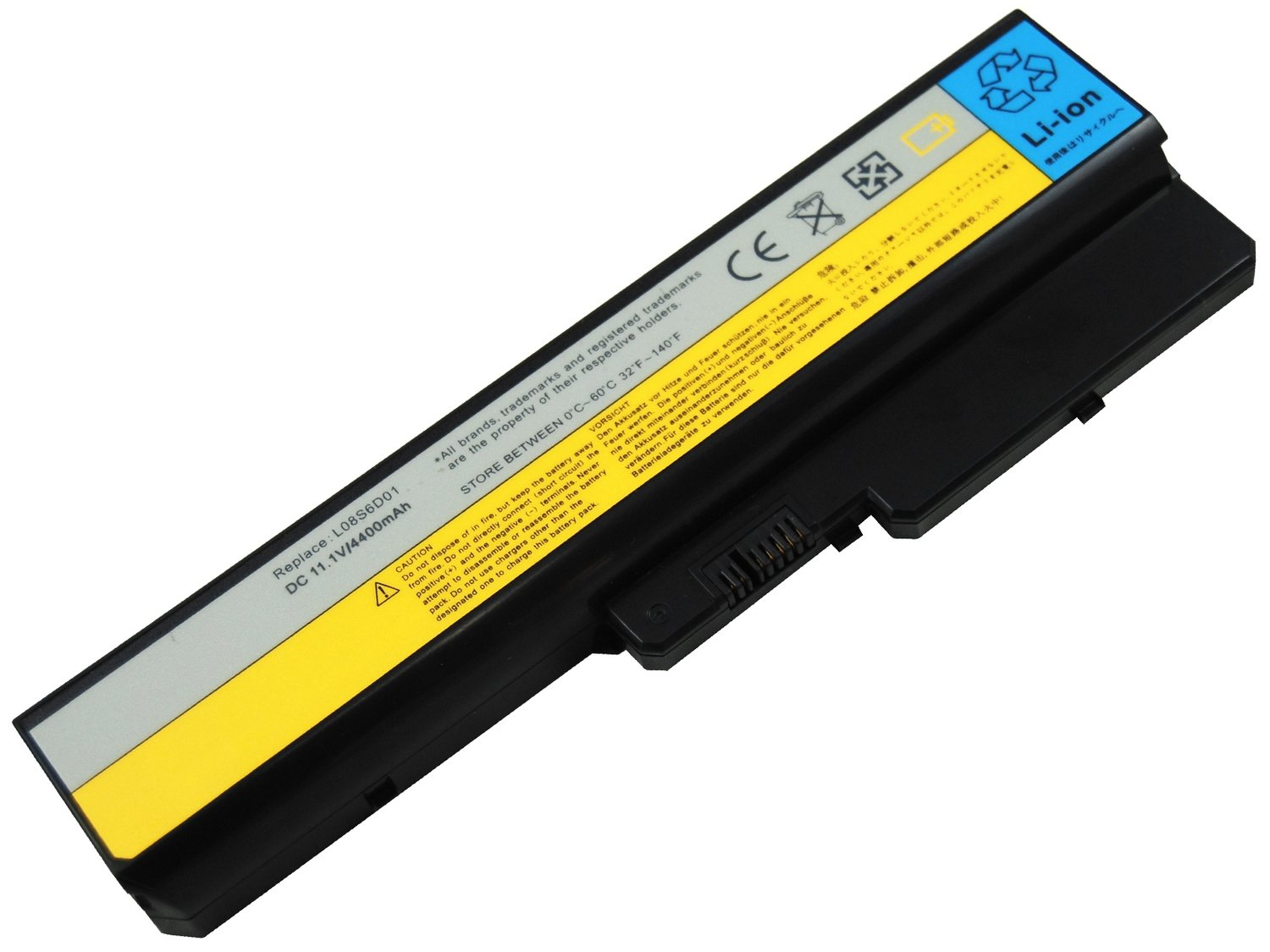 Lenovo Ideapad Y430 FRU L08O6D01 L08O6D02 compatible laptop battery
