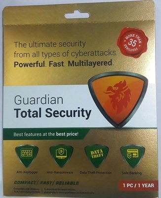 Quick heal Guardian total security latest Antivirus Single User With One year Free Update