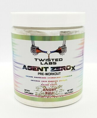 TWISTED LABS - (NEW IMPROVED POTENCY 2020 FORMULA) AGENT ZERO X