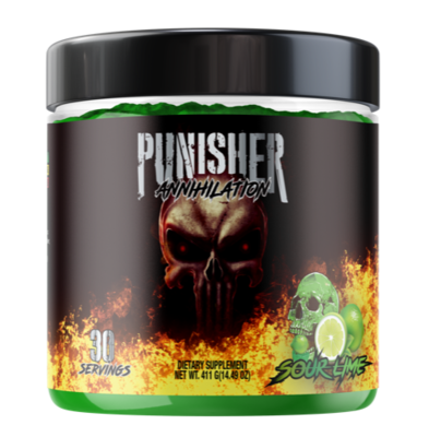 NEW!! PUNISHER ANNIHILATION - EXTREME FORMULA (NOT FOR BEGINNERS)