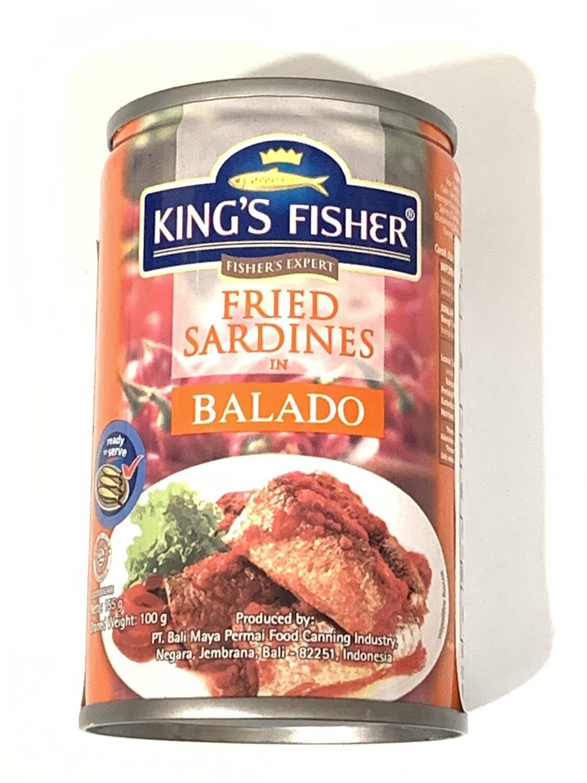 Sardines Fried Balado 155g