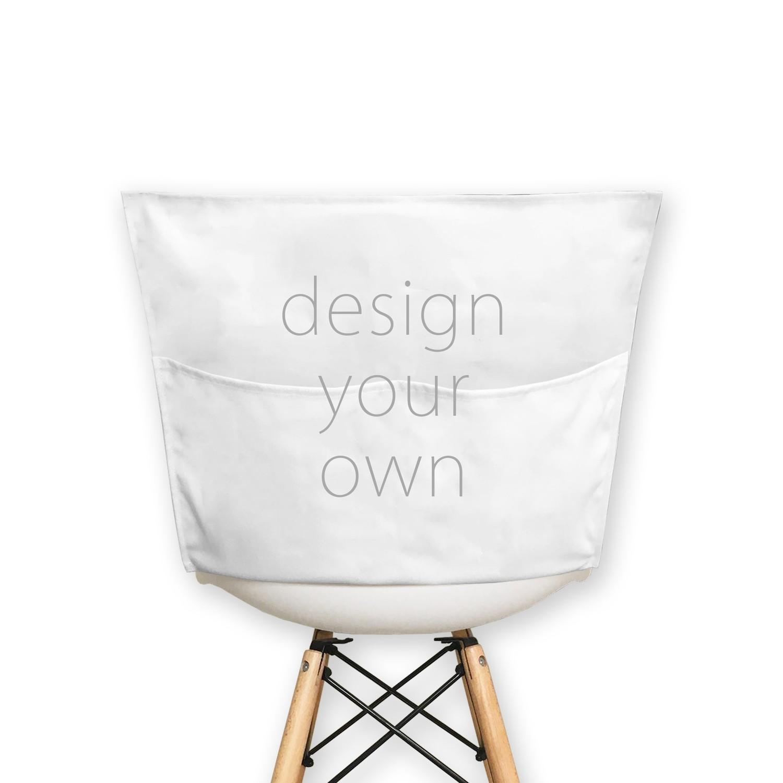 客製 滿版 印花 方形 椅套 Square chair cover