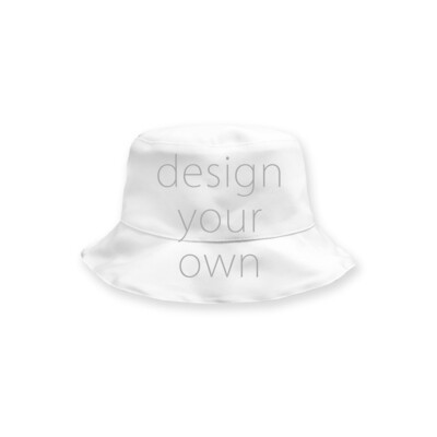 客製 滿版 印花 雙面 兒童 寶寶 漁夫帽 Double sided baby fisherman hat