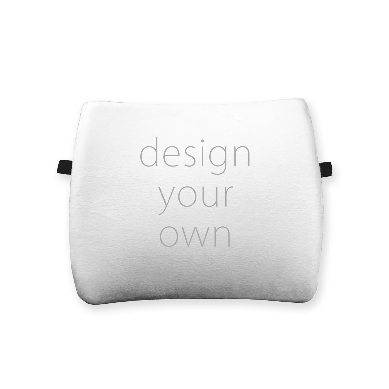 客製 滿版 印花 可拆式 護腰 靠墊 Waist cushion