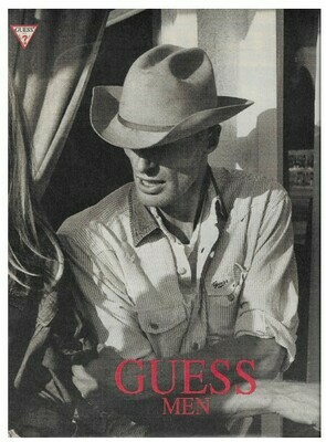 Guess / Guess Men - Washed Jeans | Magazine Ad | March 1992