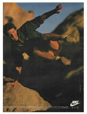 Nike / All Conditions Gear (ACG) | Magazine Ad | March 1992