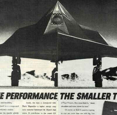 Maxell / The Higher the Performance, The Smaller the WIndows | Magazine Ad | 1991