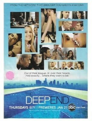 Deep End, The (TV Show) / Premiere | Magazine Ad | January 2010
