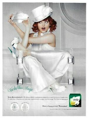 Always / Infinity - Works Like Magic | Magazine Ad | January 2010