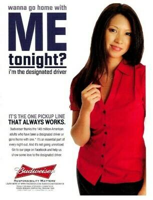 Budweiser / Wanna Go Home with ME Tonight? | Magazine Ad | January 2010