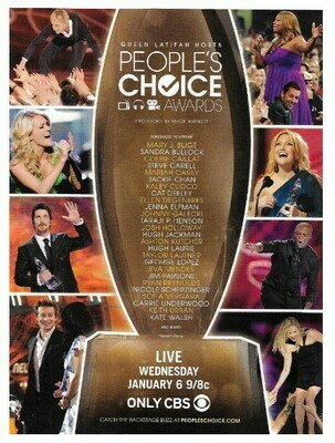 Queen Latifah / People's Choice Awards (Host) | Magazine Ad | January 2010