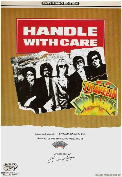 Traveling Wilburys, The / Handle With Care / Easy Piano Edition | Sheet Music (1988)