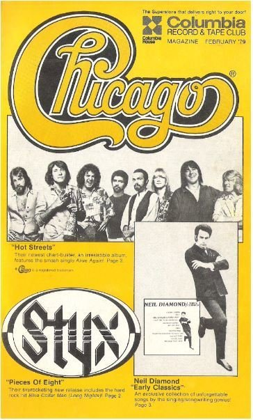 Chicago (+ Others) / Columbia House (Columbia Record + Tape Club) | Catalog (1979)