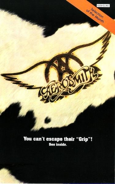 Aerosmith / Get a Grip - Selection of the Month | Magazine Ad (1993)