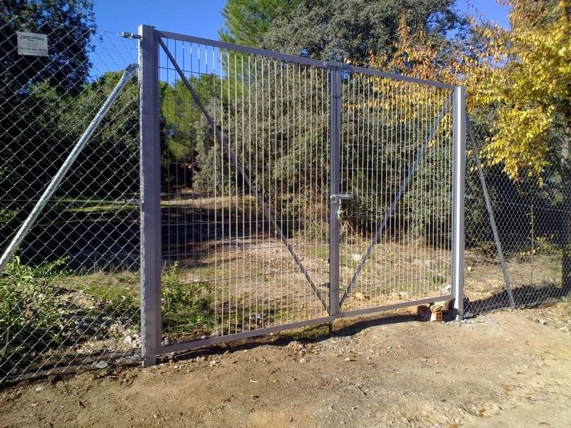Puerta vehicular  6 m por 1,50 m de alto!!!