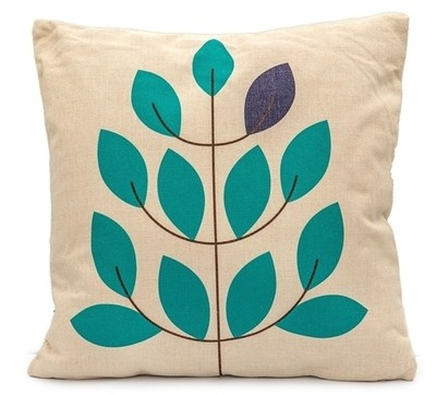 Nordic Leaves Scatter Cushion