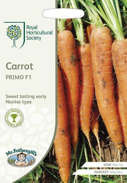 RHS Carrot Primo F1