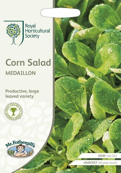 RHS Corn Salad Medaillon