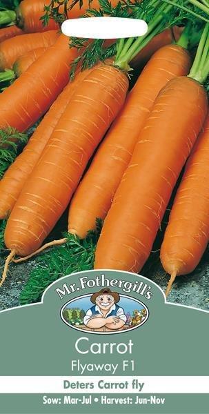 Carrot Flyaway F1 Seeds