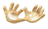 Precious Hands Pin in Gold or Silver