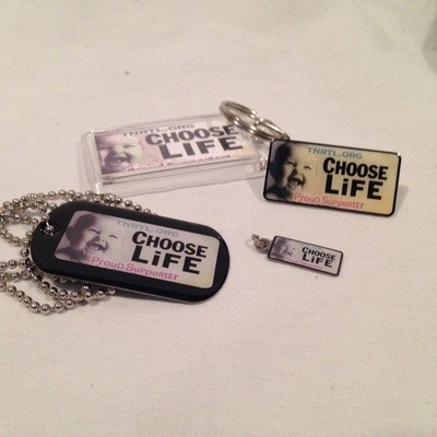 Click Here for More Choose Life Plate Items
