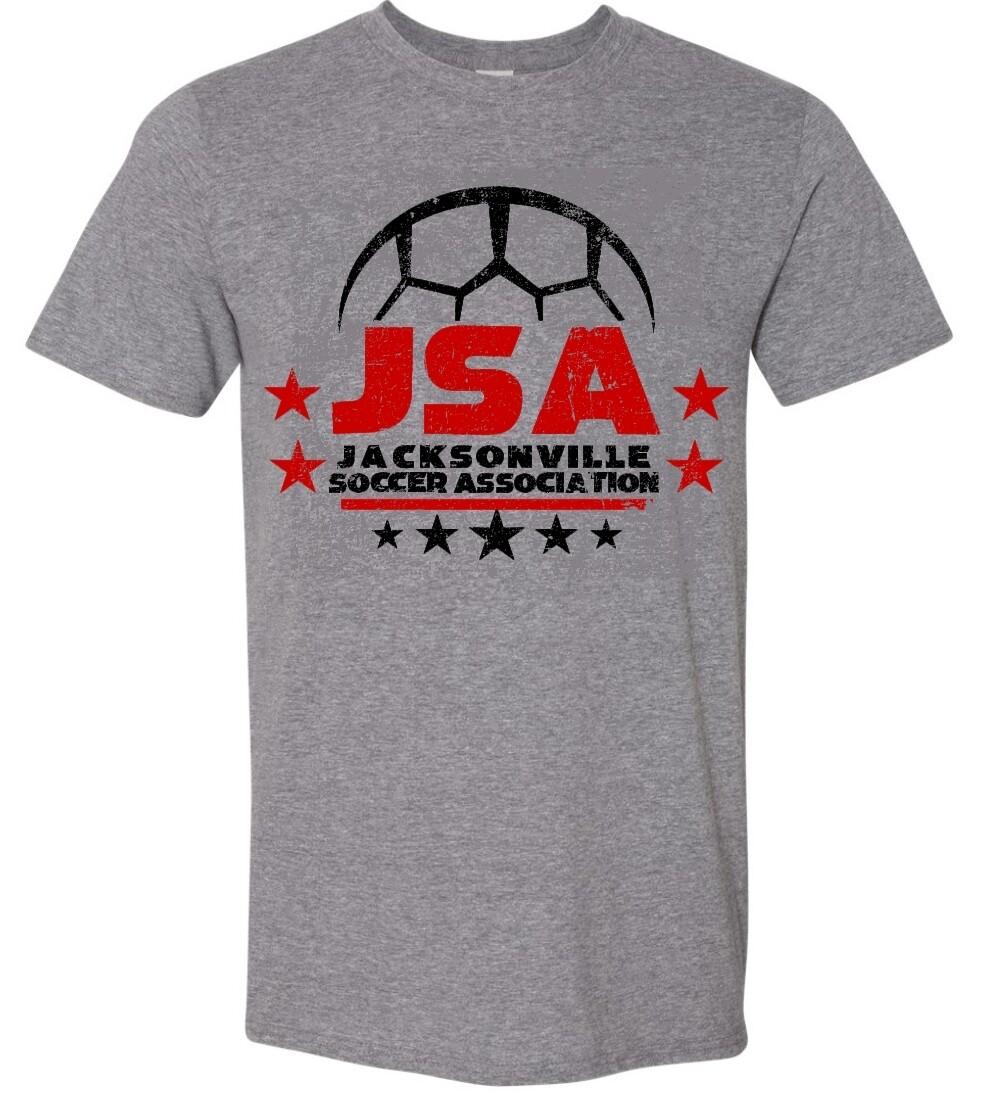 JSA-64000 UNI-SEX SOFT STYLE T-SHIRT