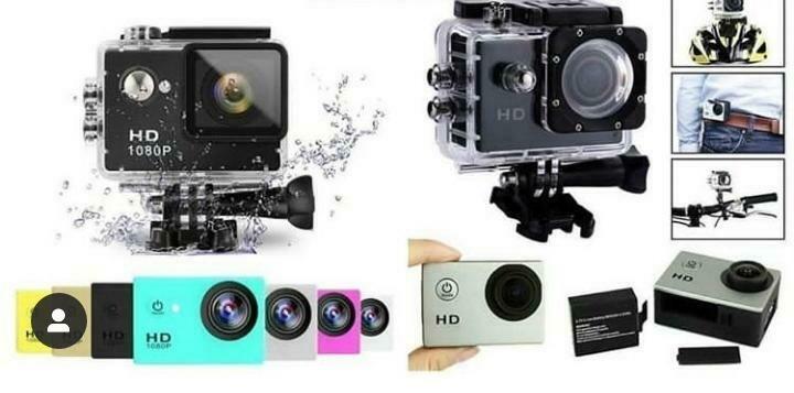 Sport Cam HD Camera for Action Video Shoot 1080 SportCam avec Pochette