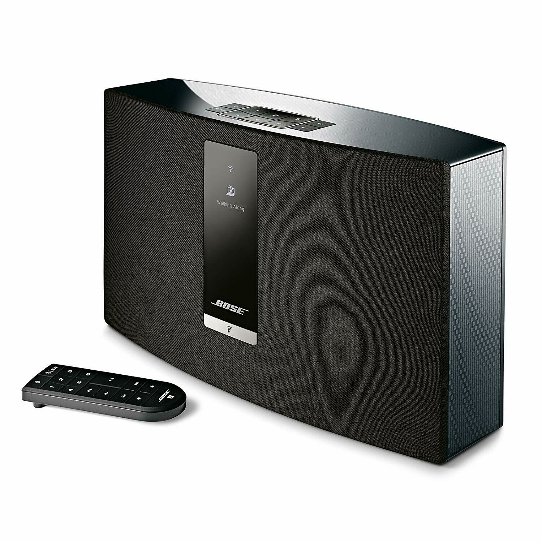 Bose SoundTouch 20 Wireless Speaker Compatible Alexa Black USAGE EN TRES BON ETAT