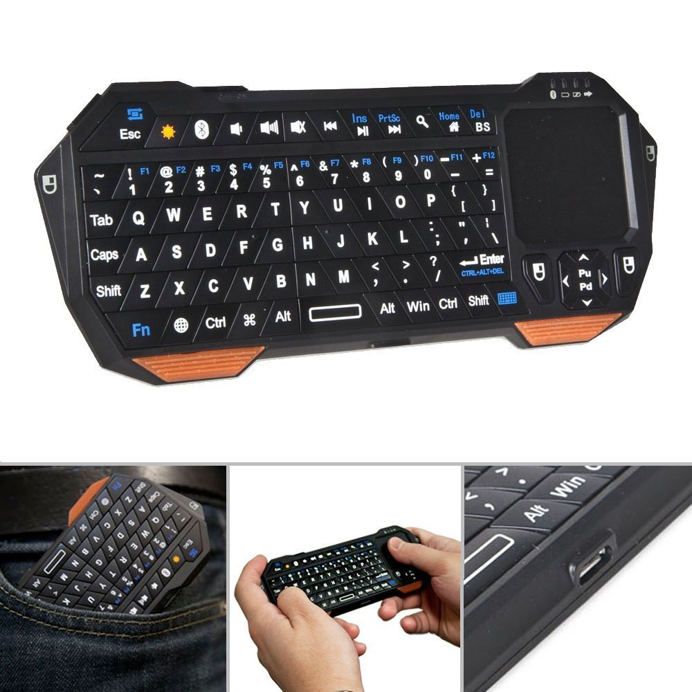 Mini Clavier Keyboard avec Trackpad Controller Touchpad Smartphone, Tablet, etc. - ShopEasy