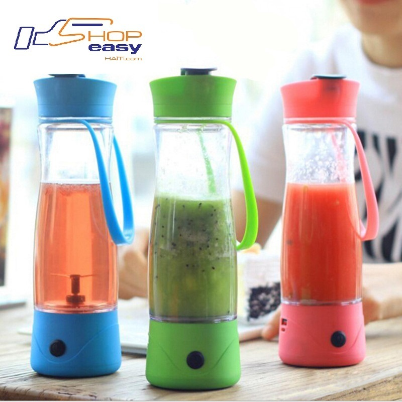 Mini Blender USB Fruits et Protein Shake Sportif + Rechargeable