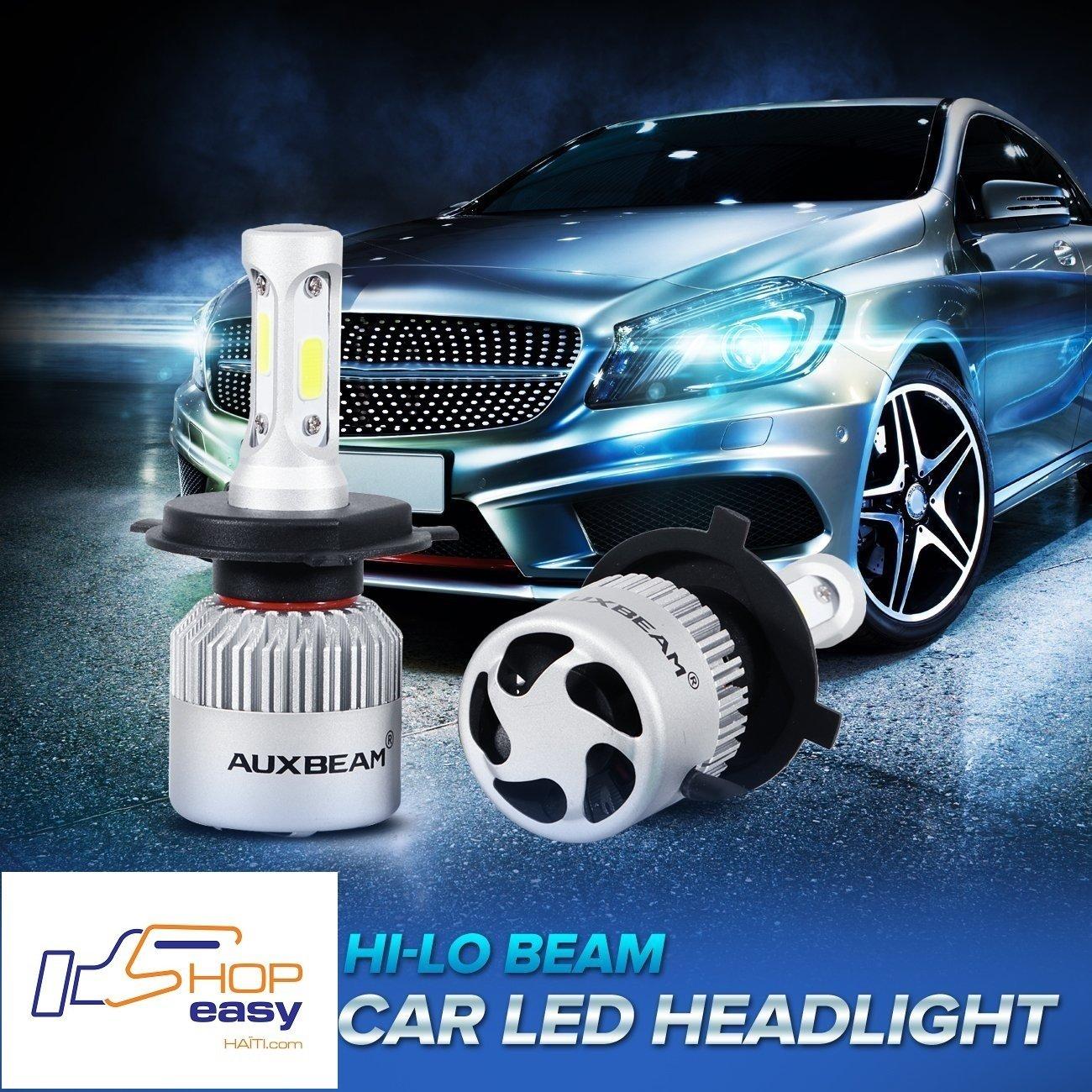 H4 C6 HeadLight Buld Lumiere Phare Vehicule (PAIRE) Ampoule UNIVERSELLE 36W