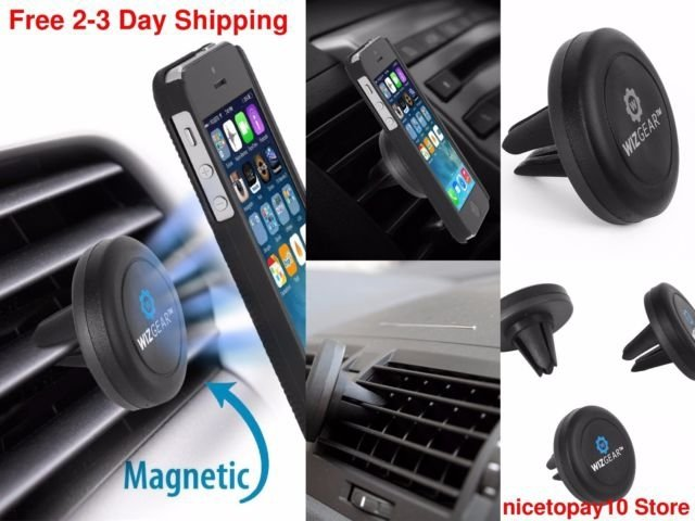 Mount Holder Magnetic Car Air Vent - LES MODELES PEUVENT LEGEREMENT VARIER
