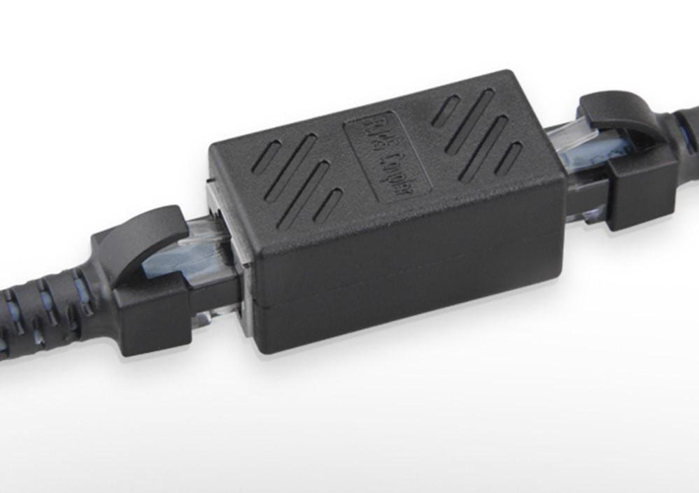 Coupler in-Line Coupler Cat7 Cat6 Cat5 Cat5e Network Cable Extender Adapter Female to Female