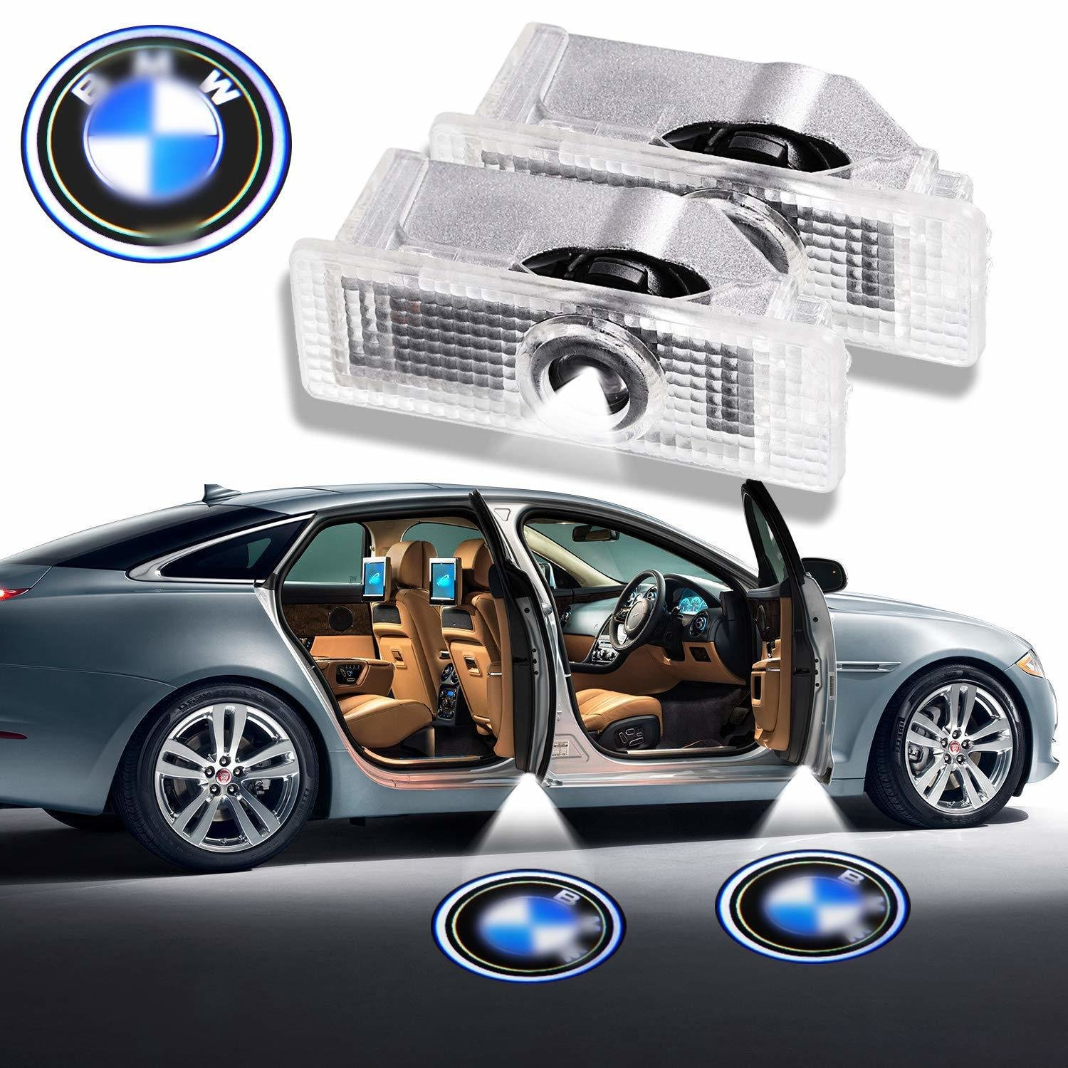 BMW Logo Projecteur LED pour BMW Series UNIVERSELLE - Car Design Projector Laser Embleme BMW Series