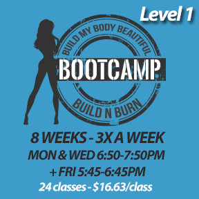 Mon, Sep 9 to Fri, Nov 1* (8 weeks - 3x a week - 24 classes)