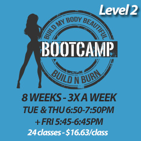 Tue, Sep 3 to Fri, Nov 1* (8 weeks - 3x a week - 24 classes)