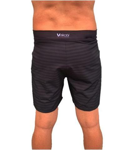 VAIKOBI PADDLE BOARD SHORTS-BLACK/GREY