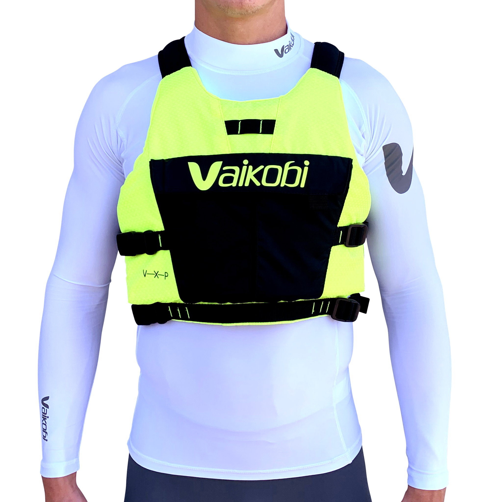 Vaikobi VXP Race PFD - Fluro Yellow/Black 00231