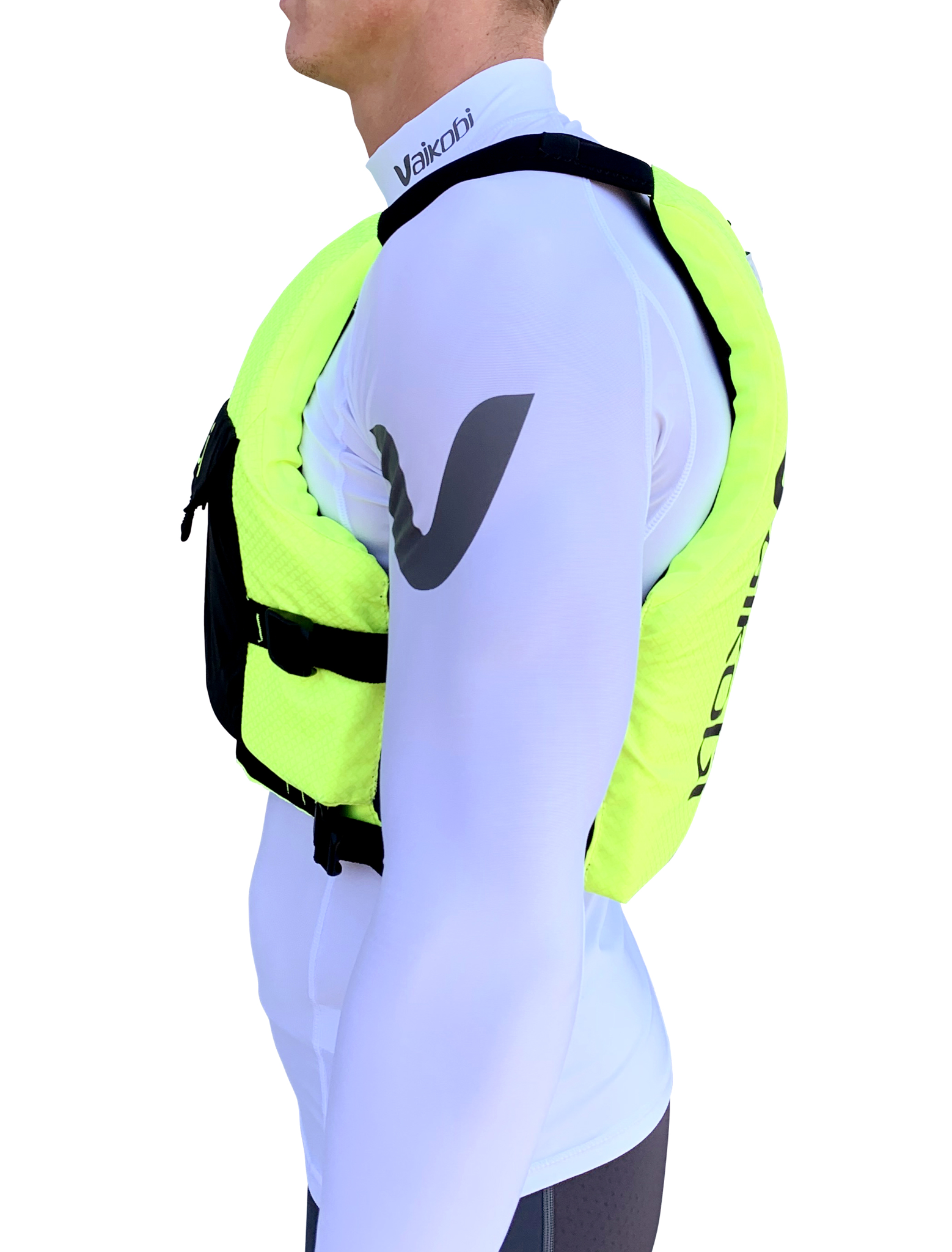 Vaikobi VXP Race PFD - Fluro Yellow/Black