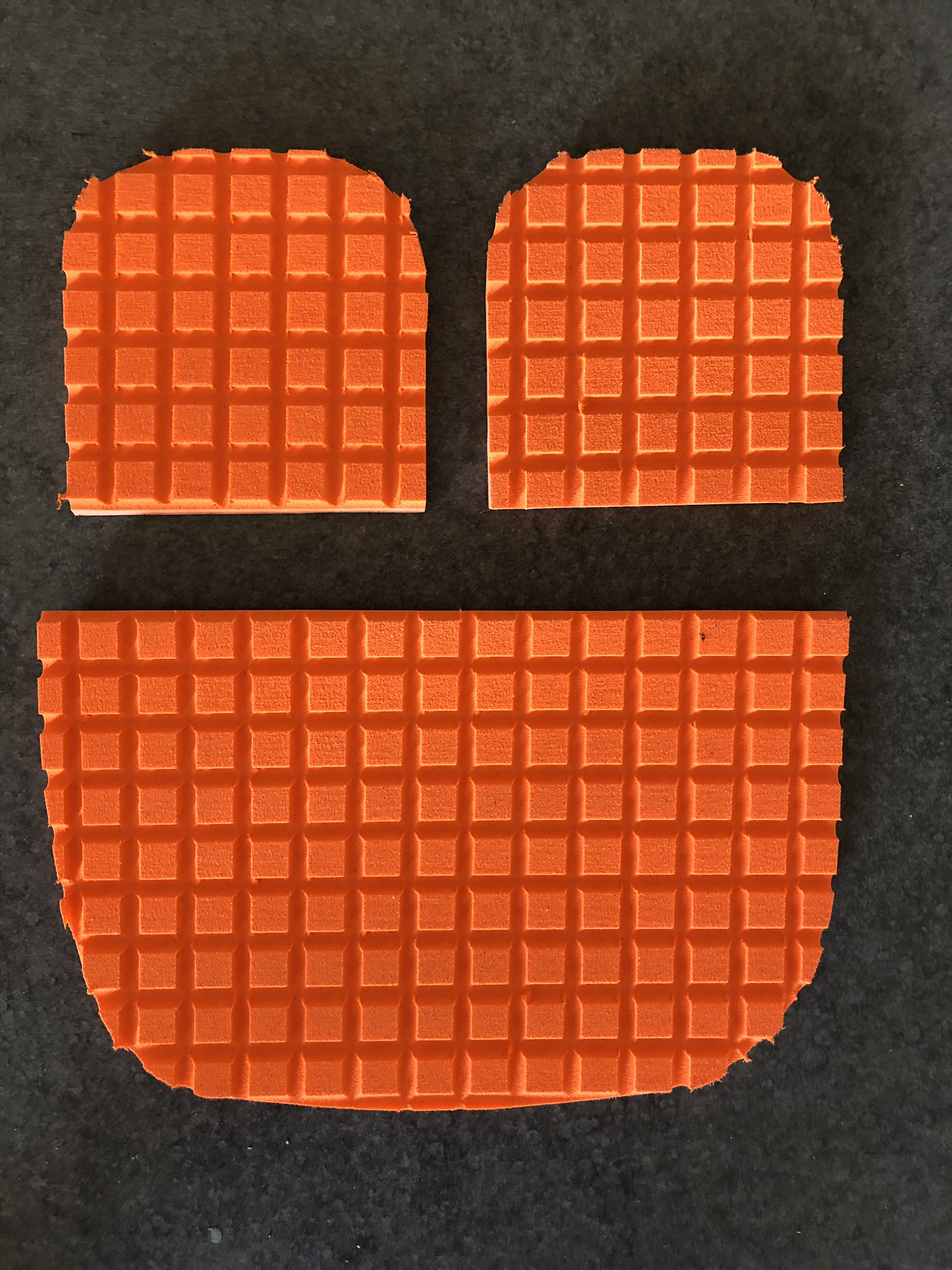 Non skid foot pads